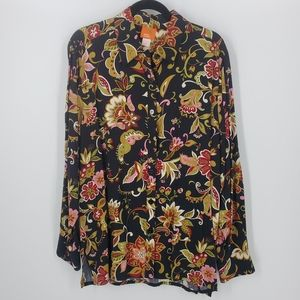 Hearts of Palms Floral Top